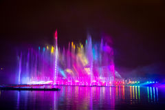 The Festival Circle of Light. The Rowing Channel. Royalty Free Stock Images