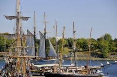 Festival clássico do barco de Montreal Fotografia de Stock