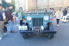 Festival clássico do carro do Tóquio em Japão fotos de stock