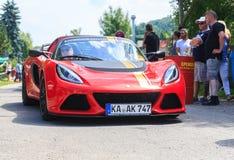 Festival classico dell'automobile, cattivo Koenig, Germania Fotografia Stock Libera da Diritti