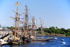 Festival classique de bateau de Montréal Photos stock