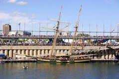 Festival classique de bateau de Montréal Images libres de droits