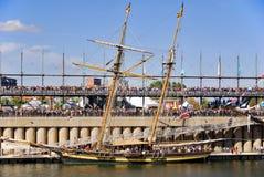 Festival classique de bateau de Montréal Photos libres de droits