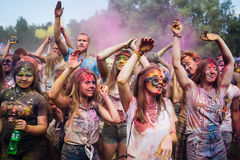 Festival of colors ColorFest Royalty Free Stock Image