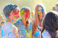 Festival of colors Royalty Free Stock Image