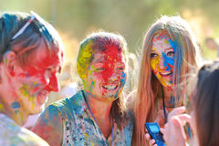 Festival of colors Stock Images