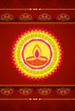 Festival of colors -earthen lamp, Diwali Royalty Free Stock Images