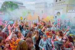 The festival of colors Royalty Free Stock Photo