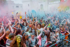 The festival of colors Royalty Free Stock Images