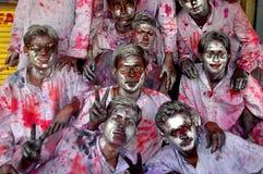 Festival of colour-HOLI Royalty Free Stock Photo