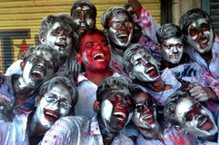 Festival of colour-HOLI Royalty Free Stock Photography