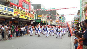 Festival Competition. Philippines Province Festival Performance Royalty Free Stock Photo
