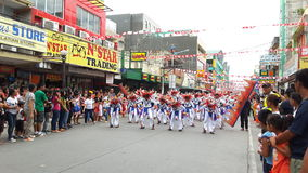 Festival Competition. Philippines Province Festival Performance Stock Photos