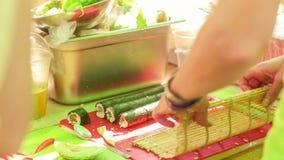 Festival crudo de la comida Fotografía de archivo libre de regalías