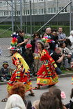 Festival cultural anual em Hammarkullen, Gothenburg, Suécia Imagem de Stock