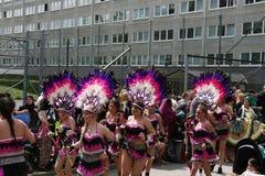 Festival cultural anual en Hammarkullen, Goteburgo, Suecia Fotos de archivo libres de regalías