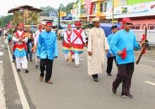 Festival culturale Manokwari 2017 Immagine Stock Libera da Diritti