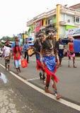 Festival culturale 2017, Papuasia ad ovest Fotografie Stock Libere da Diritti