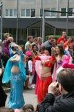 Festival culturel annuel dans Hammarkullen, Gothenburg, Suède Images stock