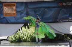 Festival culturel indigène photos stock