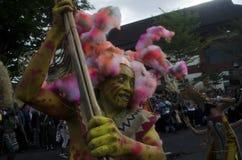 FESTIVAL D'ART DE CULTURE DE L'INDONÉSIE photo stock