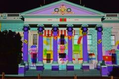 Festival d'arts de nuit blanche de Geelong Image libre de droits