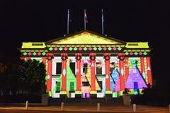 Festival d'arts de nuit blanche de Geelong Photographie stock libre de droits