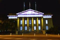 Festival d'arts de nuit blanche de Geelong, bâtiment de conseil Photographie stock