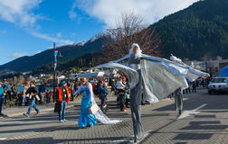 Festival 2015 d'hiver de Queenstown Photos stock