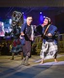Festival d'international de masque d'exposition de danse du Laos photos libres de droits