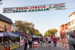 Festival d'Italien de Monterey Photos stock