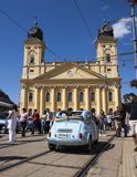 Festival d'Oldtimer de Debrecen. Photo stock