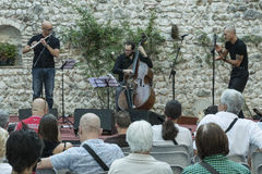 Festival d'Udin et de jazz Images libres de droits