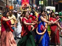 Festival da Índia Toronto foto de stock