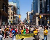 Festival da Índia Toronto imagem de stock royalty free