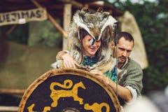 Festival da arqueologia experimental Foto de Stock Royalty Free