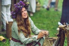 Festival da arqueologia experimental Fotografia de Stock Royalty Free