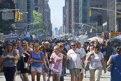 Festival da avenida Americas Imagens de Stock Royalty Free