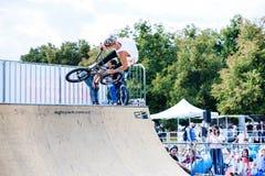 Festival da bicicleta do jogo no festival internacional do cultur feito sob encomenda Imagens de Stock
