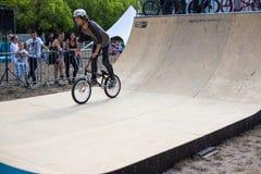 Festival da bicicleta do jogo no festival internacional do cultur feito sob encomenda Imagens de Stock Royalty Free