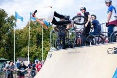 Festival da bicicleta do jogo no festival internacional do cultur feito sob encomenda Imagem de Stock