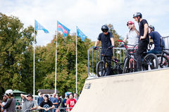 Festival da bicicleta do jogo no festival internacional do cultur feito sob encomenda Fotos de Stock