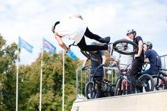 Festival da bicicleta do jogo no festival internacional do cultur feito sob encomenda Fotografia de Stock Royalty Free