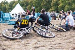 Festival da bicicleta do jogo no festival internacional do cultur feito sob encomenda Foto de Stock