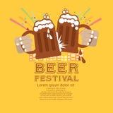 Festival da cerveja. Fotografia de Stock