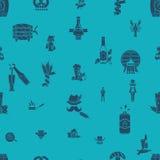Festival da cerveja de Oktoberfest Ilustração de cor Imagem de Stock Royalty Free