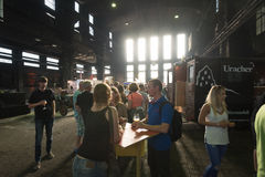 Festival da cerveja do ofício Foto de Stock Royalty Free