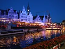 Festival da cidade de Ghent Fotografia de Stock Royalty Free