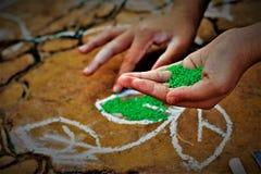 Festival da colheita do festival de Pongal dedicado ao deus de sol foto de stock