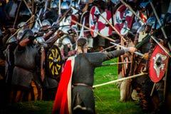 Festival da cultura medieval Imagens de Stock